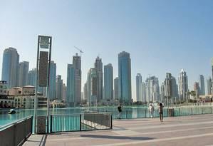 Dubai foi eleito o melhor destino turístico do mundo Foto: Luciane Costa / O Globo