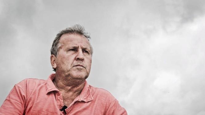 Zico ficou na bronca com saída de Jayme Foto: Ivo Gonzalez / Agência O Globo