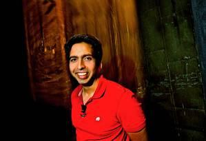 O educador Salman Khan, fundador da Khan Academy Foto: Divulgação