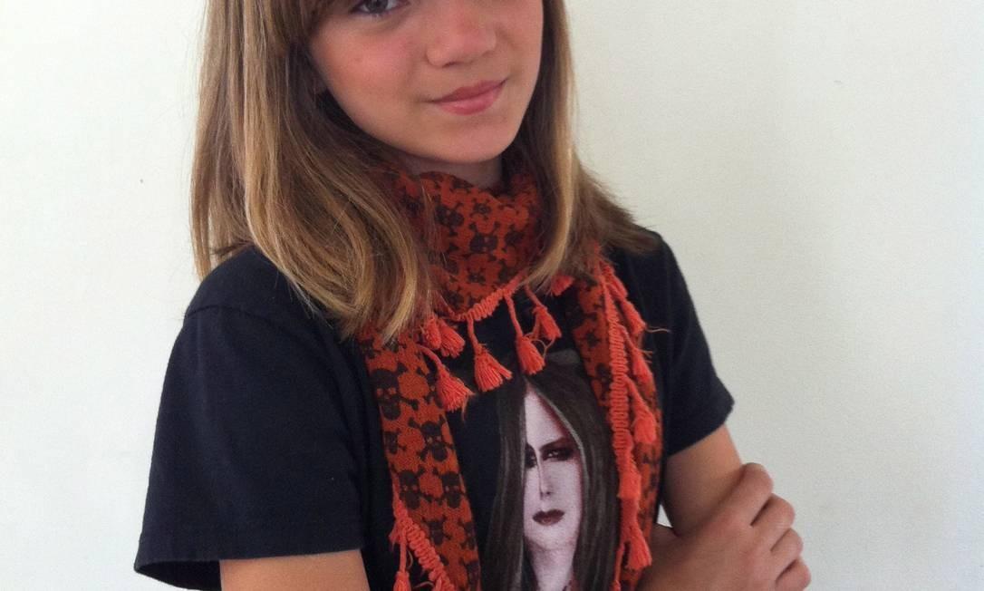 Isadora Faber, de 13 anos, é a autora da página