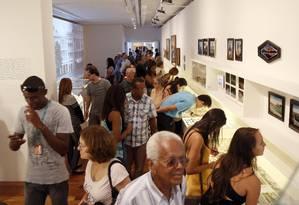 Novidade. Inauguração em dia de gratuidade incentivou visita de cariocas Foto: Fabio Rossi / O Globo