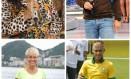 Regina Casé, Luciano Huck, Xuxa e Neymar Foto: O Globo