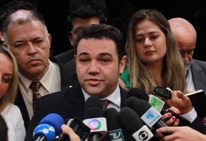 """Feliciano disse que não pode ser considerado homofóbico por """"conta de 140 caracteres"""", usados em ataque no Twitter Foto: Givaldo Barbosa / Agência O Globo"""
