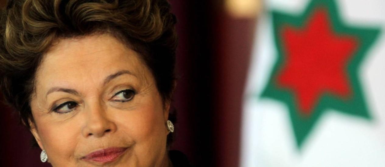 Presidente Dilma Rousseff: 76% de potencial de voto Foto: Gustavo Miranda/23-1-2013