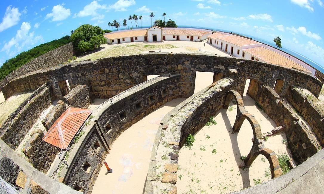 Foram dois anos de obras de recuperação da fortaleza, a mais antiga feita em pedra do Nordeste. Foto: Hans von Manteuffel / O Globo