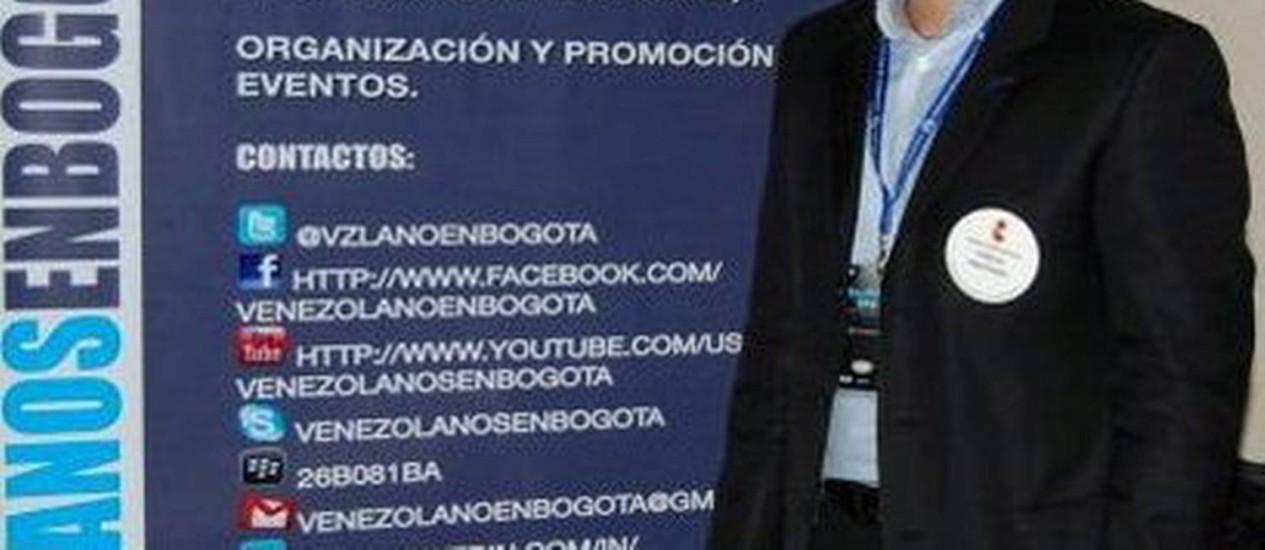 Fuga de venezuelanos: Carlos Martinez criou site para os que estão em Bogotá Foto: GDA/El Nacional/Venezuela / GDA/El Nacional/Venezuela