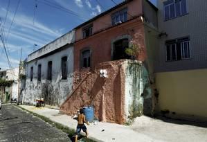 Bicentenário. Possível residência onde viveu o escritor Foto: Marcelo Piu / O Globo