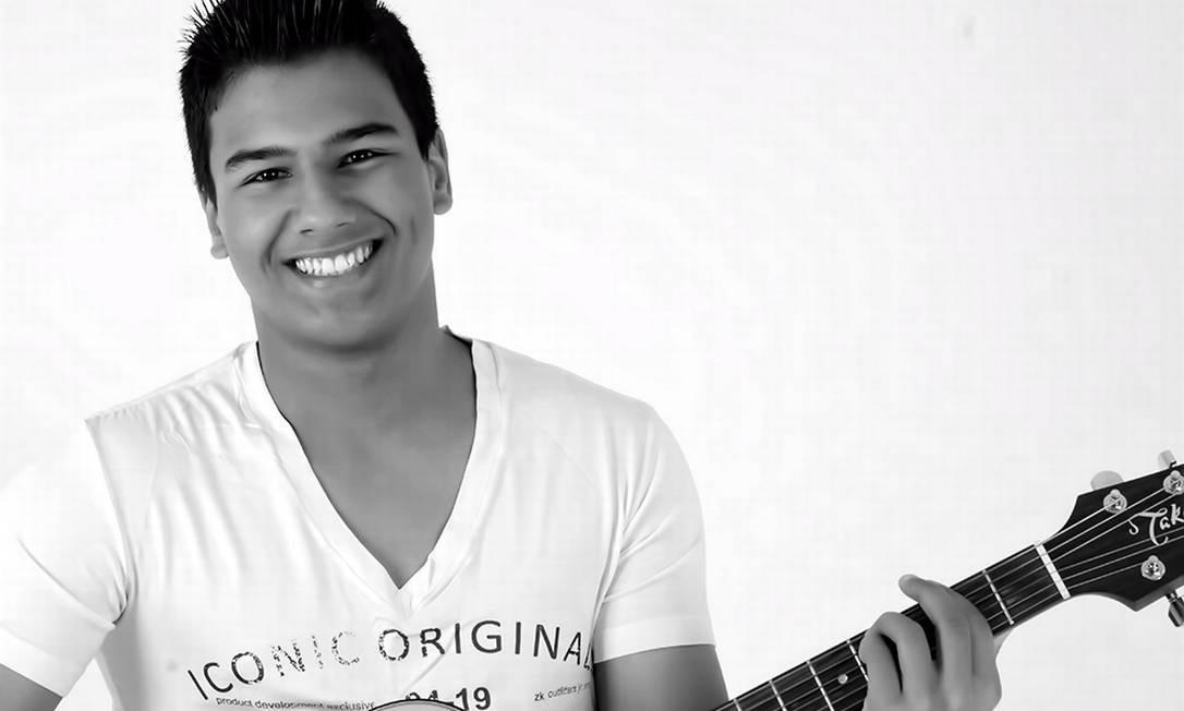 """O cantor, de 17 anos, foi apelidado de """"Baby Face"""" pelo apresentador Marcos Mion Foto: Divulgação"""