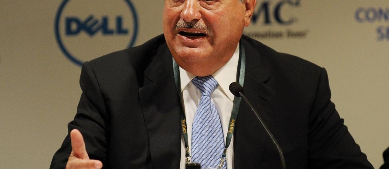 Carlos Slim, o homem mais rico do mundo Foto: Greg Wood/AFP