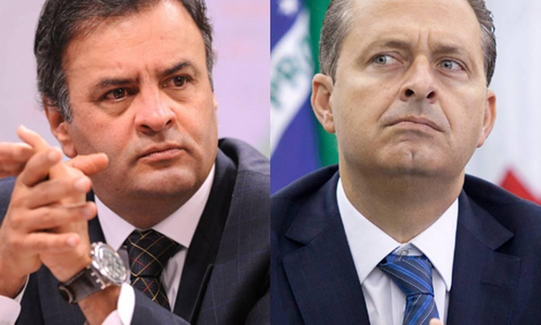 Aécio Neves e Eduardo Campos, pré-candidatos nas eleições presidenciais de 2014 Foto: / O Globo