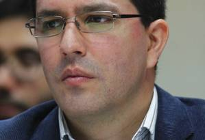 Genro. O vice-presidente Jorge Arreaza Foto: Carlos Garcia Rawlins / Carlos Garcia Rawlins/REUTERS