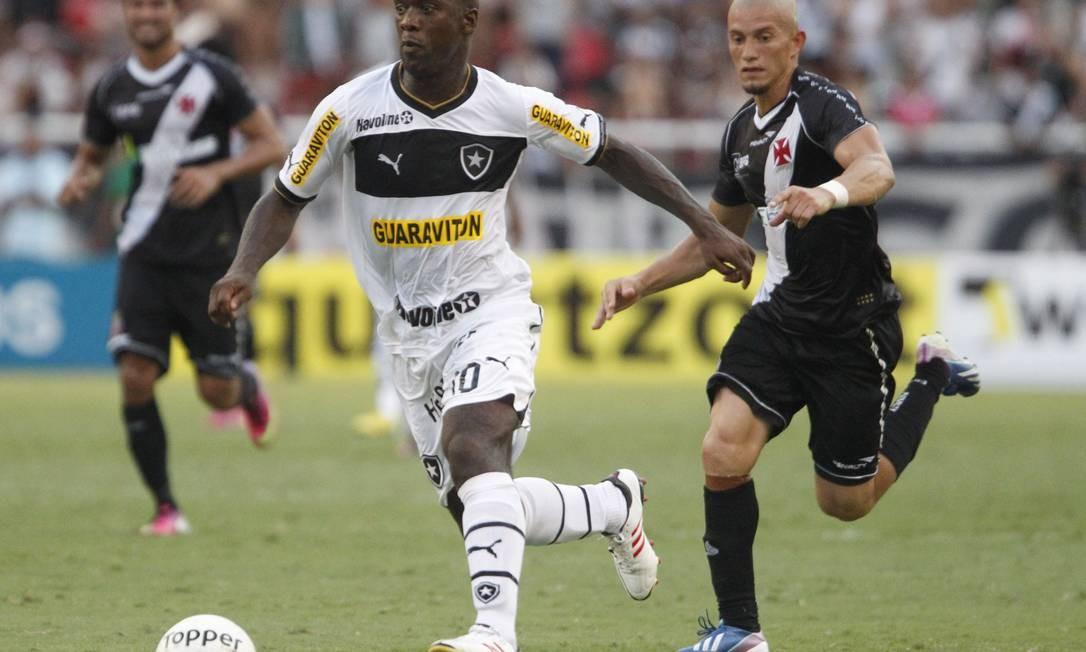 Nei quer um reencontro com o Botafogo na final do Carioca Foto: Ivo Gonzalez / Agência O Globo