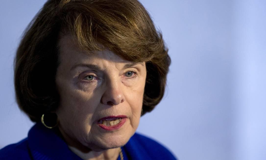 Proposta de Dianne Feinstein pode não passar pelo Senado Foto: Evan Vucci / AP