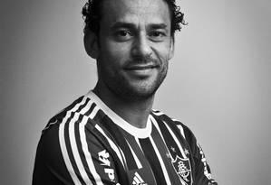 Fred: 'O futebol é uma ilusão, não é porque estou ganhando que sou o tal' Foto: Guillermo Giansanti / Agência O Globo
