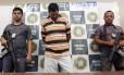 Marco Antônio Titonelli, acusado de participar da morte de vereador de Niterói, foi apresentado pela Polícia Civil nesta sexta-feira