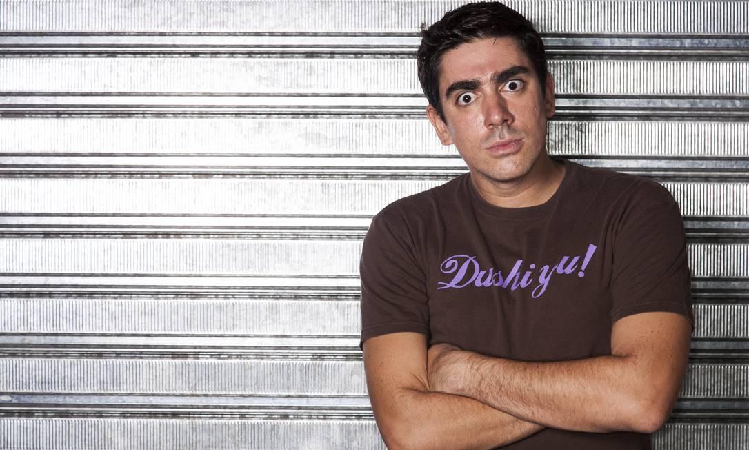 O ator e comediante Marcelo Adnet diz que não vê motivo para ver a mudança de emissora como um peso Foto: Daniela Dacorso