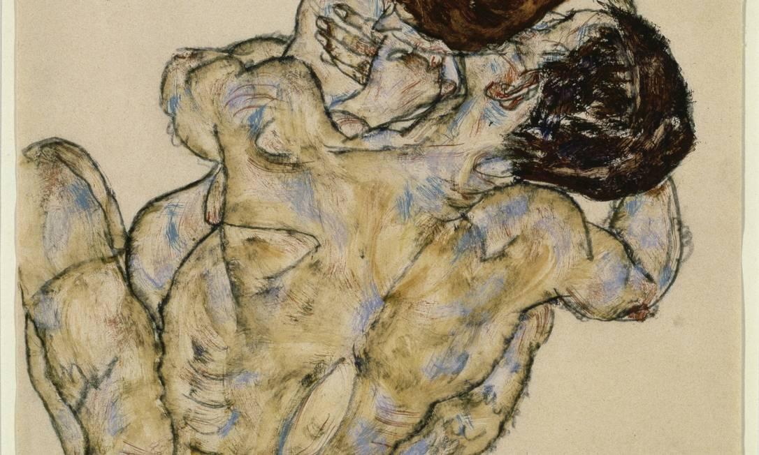 Amor e sexo. Especialistas debateram sobre os caminhos do desejo para homens e mulheres, representado na imagem de Egon Schiele Foto: Latinstock