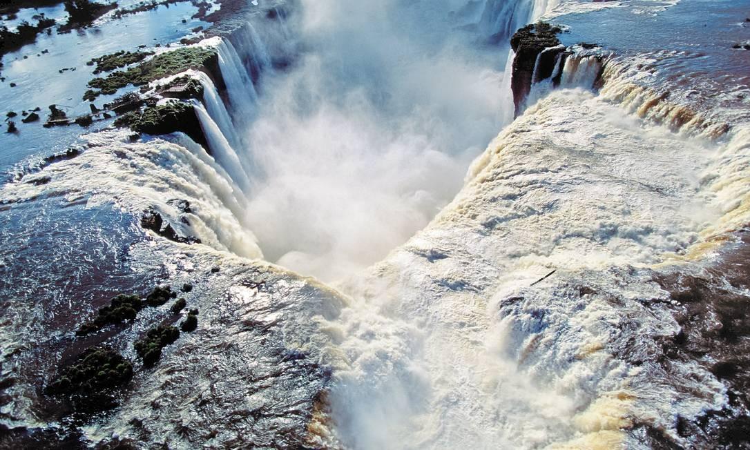 Cataratas de Foz do Iguaçu Foto: Claus Meyer/TYBA