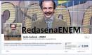 Ministro da Educação, Aloizio Mercadante, é retratado como o apresentador de TV Silvio Santos Foto: Reprodução do Facebook