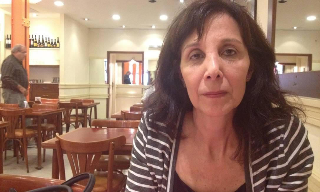 Mabel Careaga: 'A Igreja Católica deveria ter denunciado as atrocidades' Foto: Janaína Figueiredo