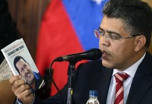 Jaua: sem contato com os EUA Foto: LEO RAMIREZ / AFP