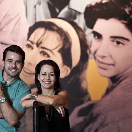Em nome da produção teatral. Os atores Chico Flávio e Rita Fischer Foto: Guilherme leporace / Guilherme Leporace