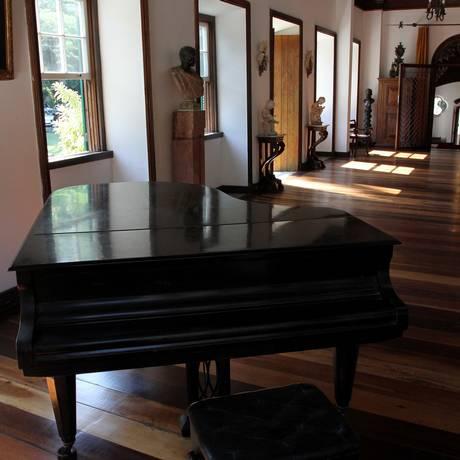Espaço. Detalhe do salão Ferreira Vianna, um dos Foto: Rafael Moraes / Agência O Globo