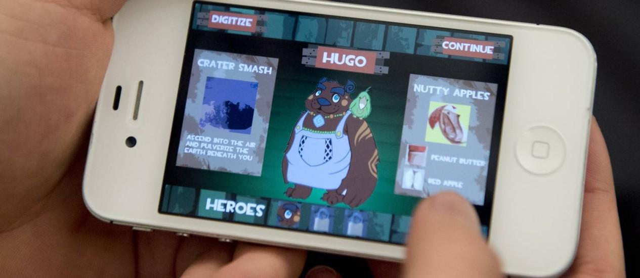 Aplicativos oferecem jogos e programas para iPhone de graça Foto: SAUL LOEB/AFP