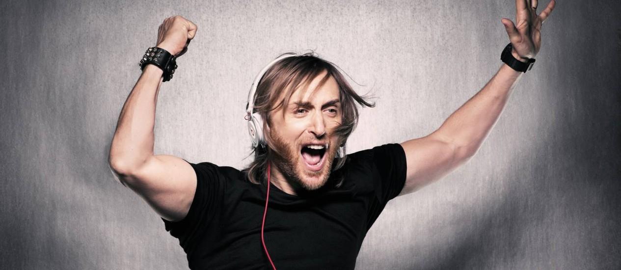 DJ David Guetta Foto: Divulgação