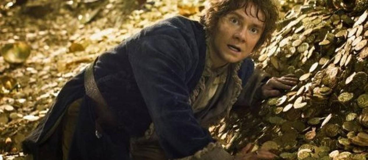 Bilbo Bolseiro em 'O Hobbit - a desolação de Smaug' Foto: Divulgação
