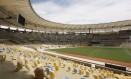 Com a nova configuração das arquibancadas, o Maracanã acabará com 1872 pontos cegos Foto: Marcos Tristão / O Globo