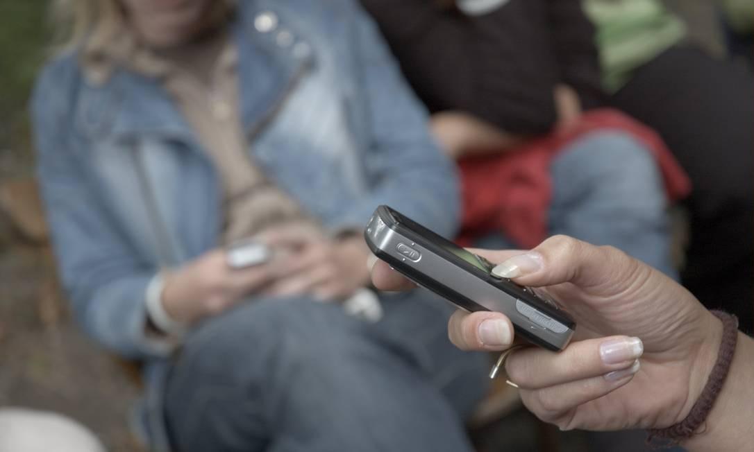 elefones sem o selo da Anatel serão bloqueados no território nacional Foto: FOTO: Bloomberg / Arquivo