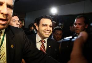 Deputado Feliciano mantém disposição de ficar à frente da Comissão de Direitos Humanos Foto: Givaldo Barbosa / Agência O Globo