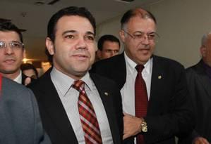 O deputado Pastor Marco Feliciano, presidente da Comissão de Direitos Humanos da Câmara Foto: Givaldo Barbosa / O Globo