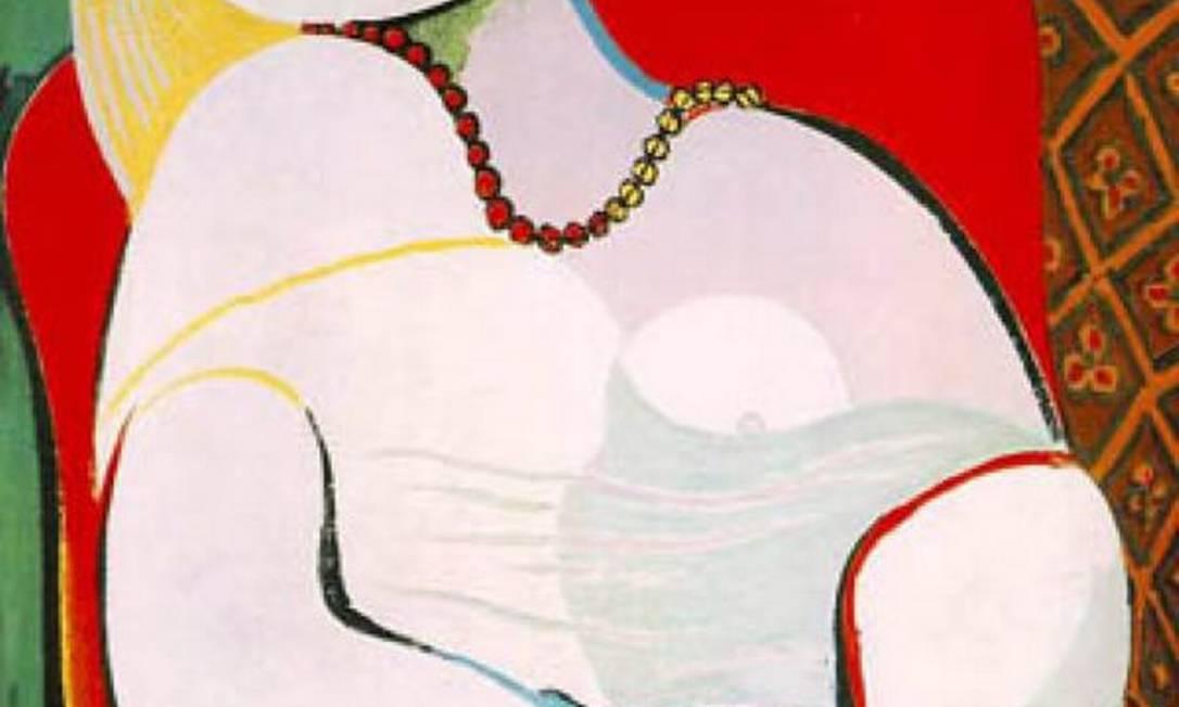 """O quadro """"Le rêve"""", de Pablo Picasso Foto: Reprodução"""