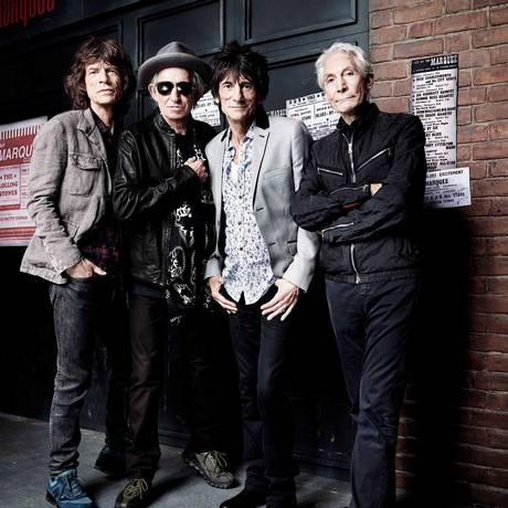The Rolling Stones anunciam turnê de 50 anos Foto: Divulgação