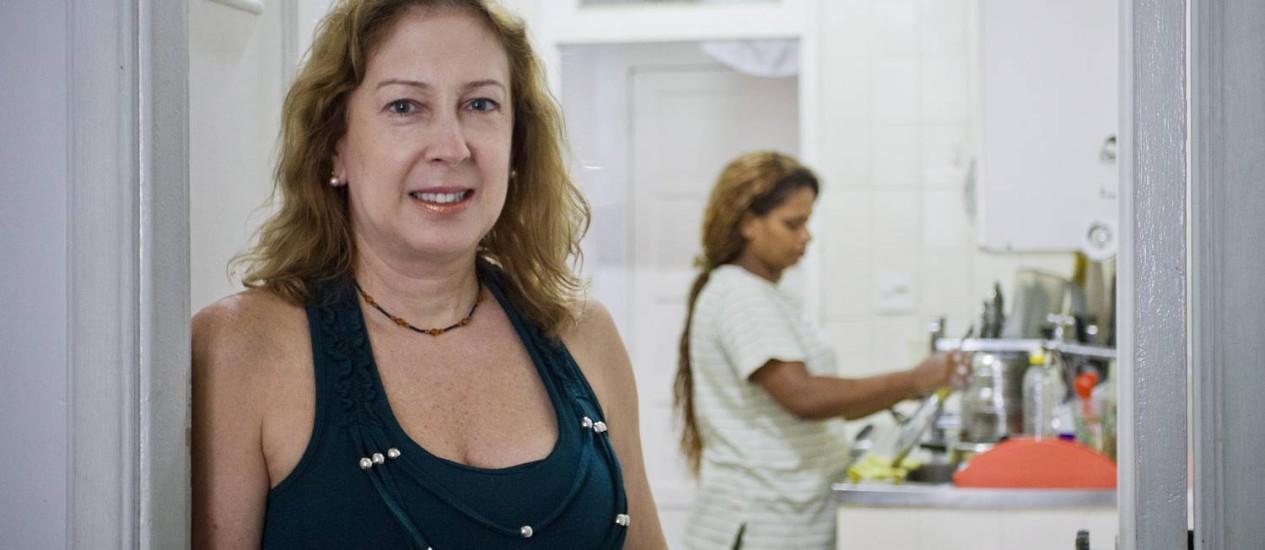 Marcia Herzog já pensa em dispensar sua doméstica Foto: Guito Moreto / Guito Moreto