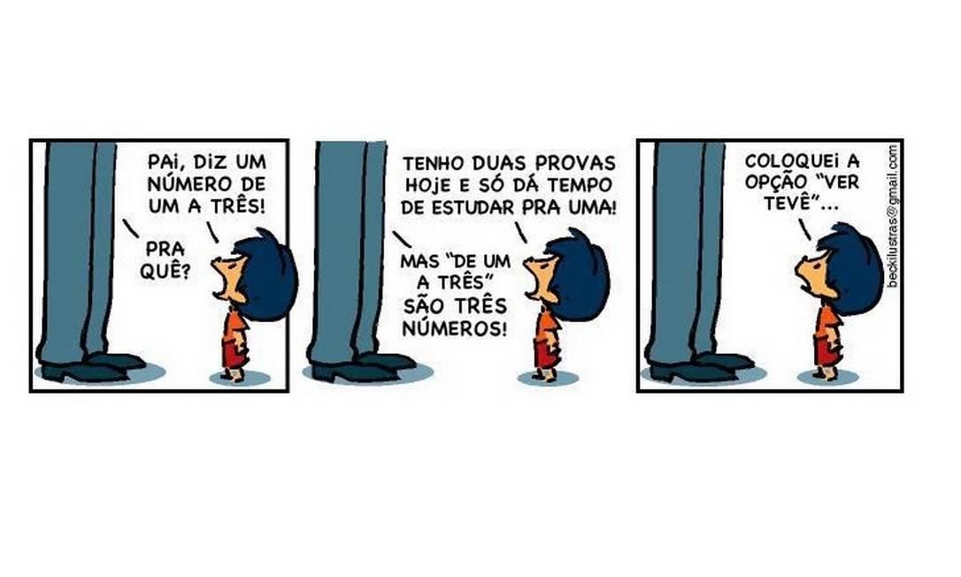 Armandinho é o novo personagem de HQ que invadiu o Facebook Foto: Facebook