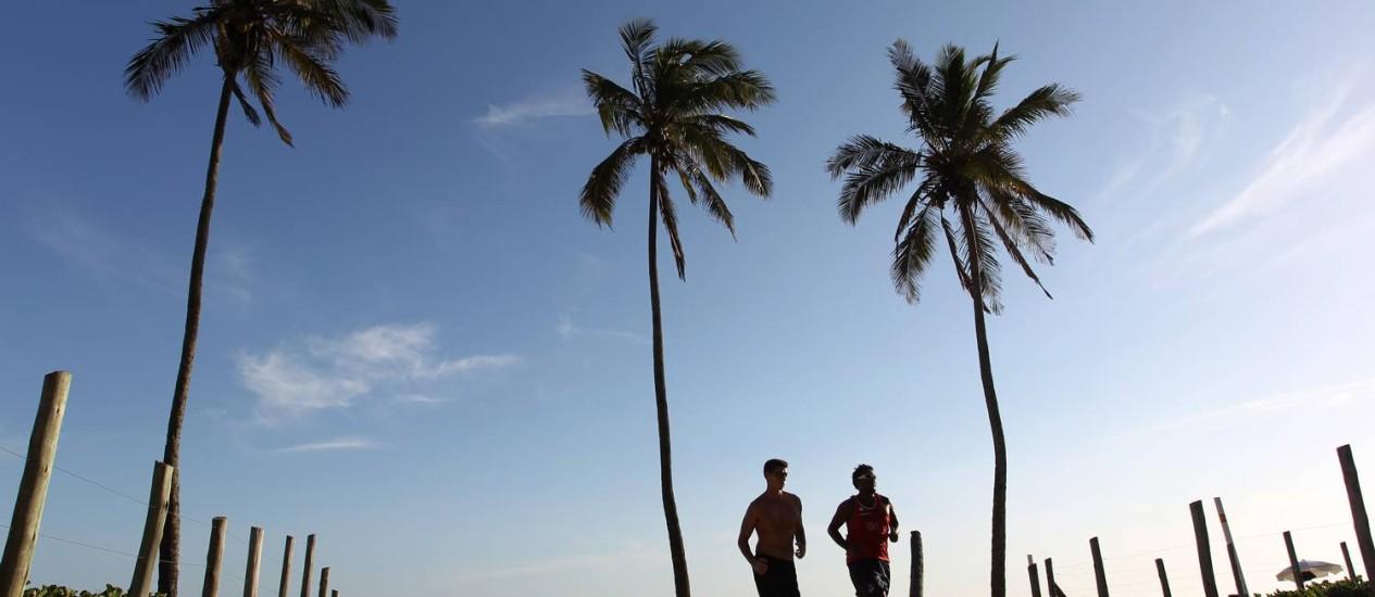 Correr reduz risco de pressão e colesterol altos, além de diabetes Foto: Carlos Ivan/05-12-2012