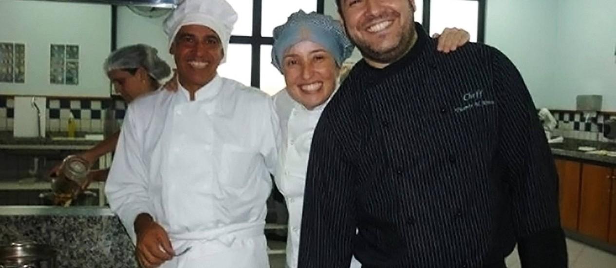 A equipe organizadora da feira de gastronomia Unilasalle 2013 Foto: Terceiro / Divulgação