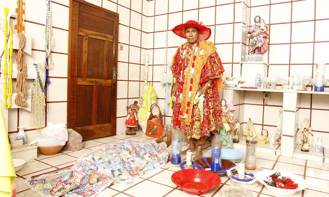 Cidade tem 300 terreiros, embora 98% de seus 118 mil moradores se declarem católicos Michel Filho / Agência O Globo