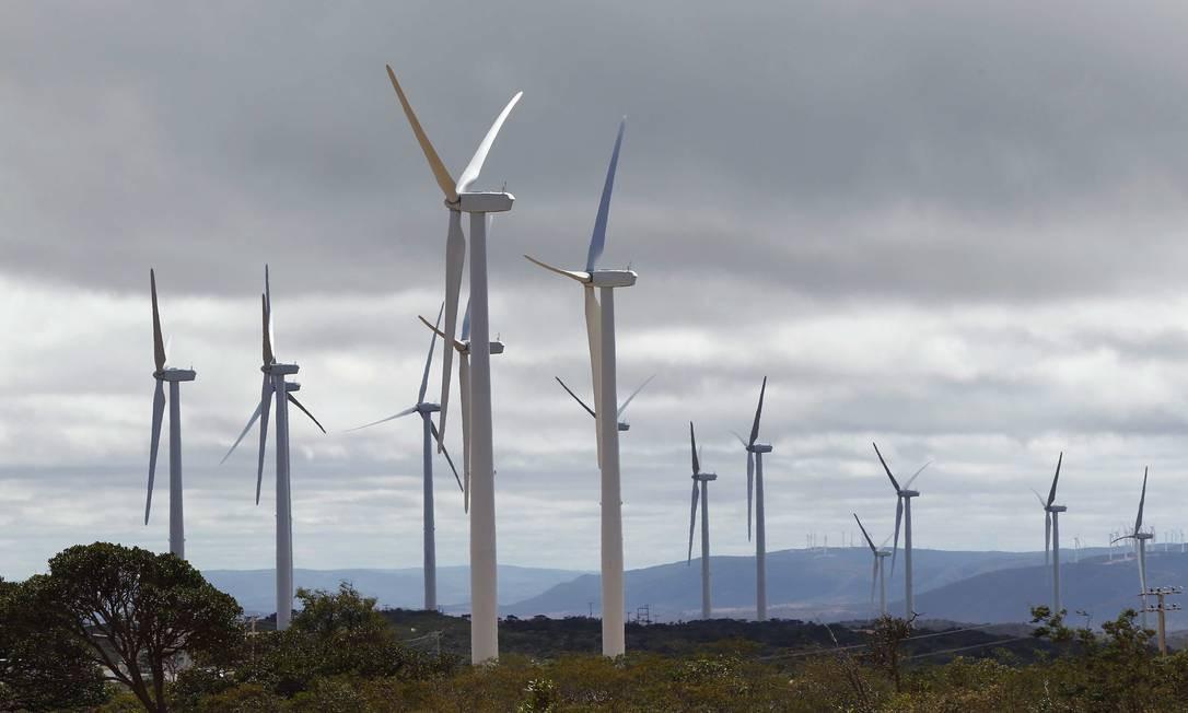 Dos projetos de energia eólica, 83% estão com atraso Foto: Pablo Jacob
