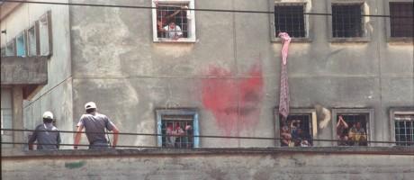 O massacre do Carandiru aconteceu em 2 de outubro de 1992 Foto: Arquivo O Globo