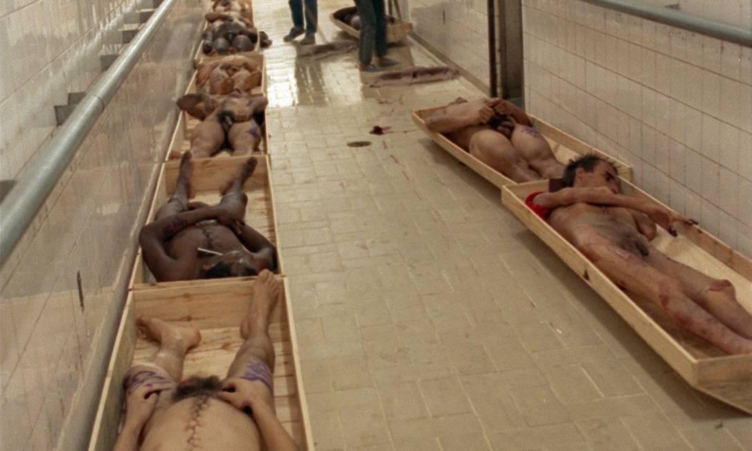 Foram mortos 111 detentos da Casa de Detenção de São Paulo Foto: Nellie Solitrenick / Arquivo O Globo