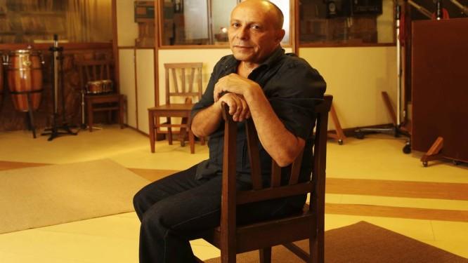 Nilo Sérgio, dono da gravadora MusiDisc, que está fechando suas portas Foto: Camilla Maia / Agência O Globo