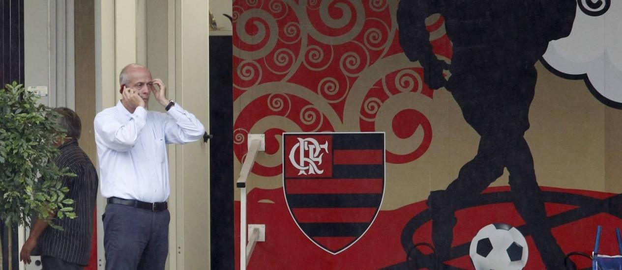 Vice-presidente de futebol do Flamengo, Wallim Vasconcellos em foto de arquivo Foto: Marcelo Carnaval / Agência O Globo