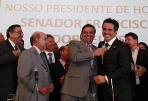 Partido Progressista elege o senador Ciro Nogueira como presidente Foto: Ailton de Freitas / O Globo