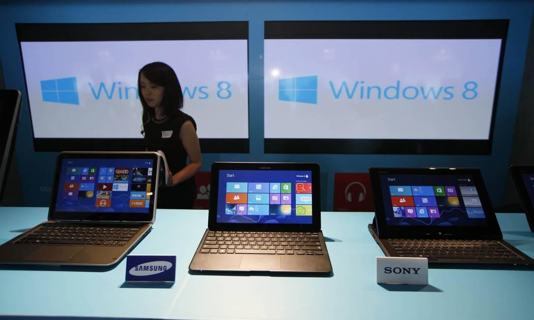 Esperança dos fabricantes, Windows 8 não atraiu consumidores Foto: Kin Cheung / Kin Cheung/AP