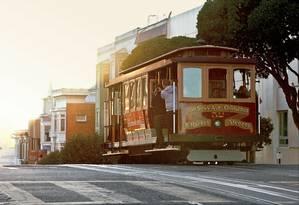 Cable cars tradicionais de São Francisco Foto: Scott Chernis / San Francisco Travel
