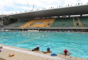 O parque aquático Júlio de Lamare Foto: Domingos Peixoto / Agência O Globo